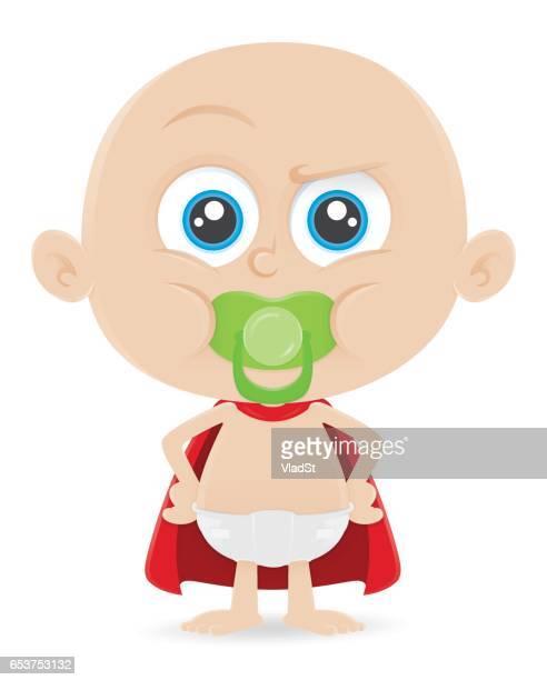 Baby boy toddler kid superhero