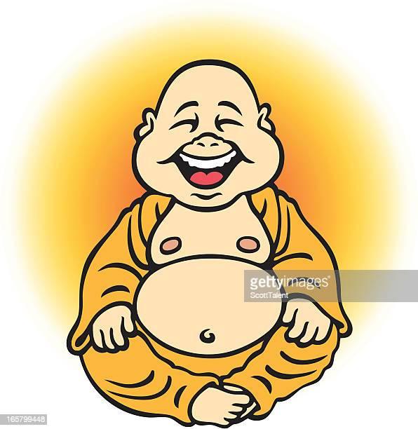 ilustraciones, imágenes clip art, dibujos animados e iconos de stock de buda de bebé - obesidad infantil