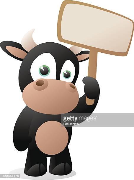 illustrations, cliparts, dessins animés et icônes de bébé éléphant tenant un panneau vierge - pancarte de manifestation