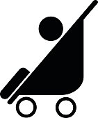 Baby carriages sign