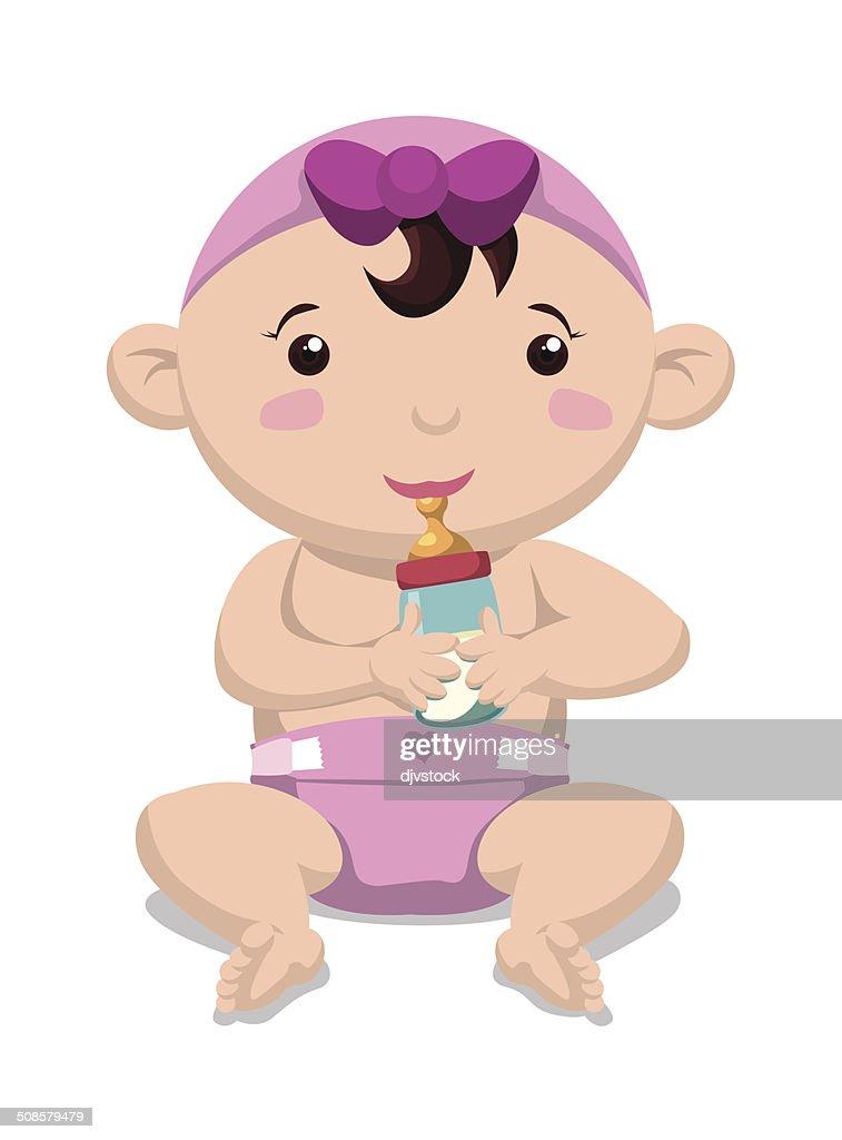 Baby design : Vectorkunst
