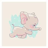 Baby elephant girl.