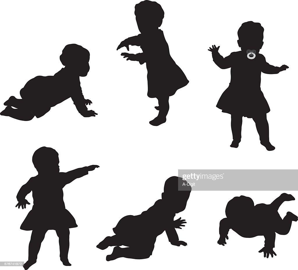 Baby Elle : Stock Illustration