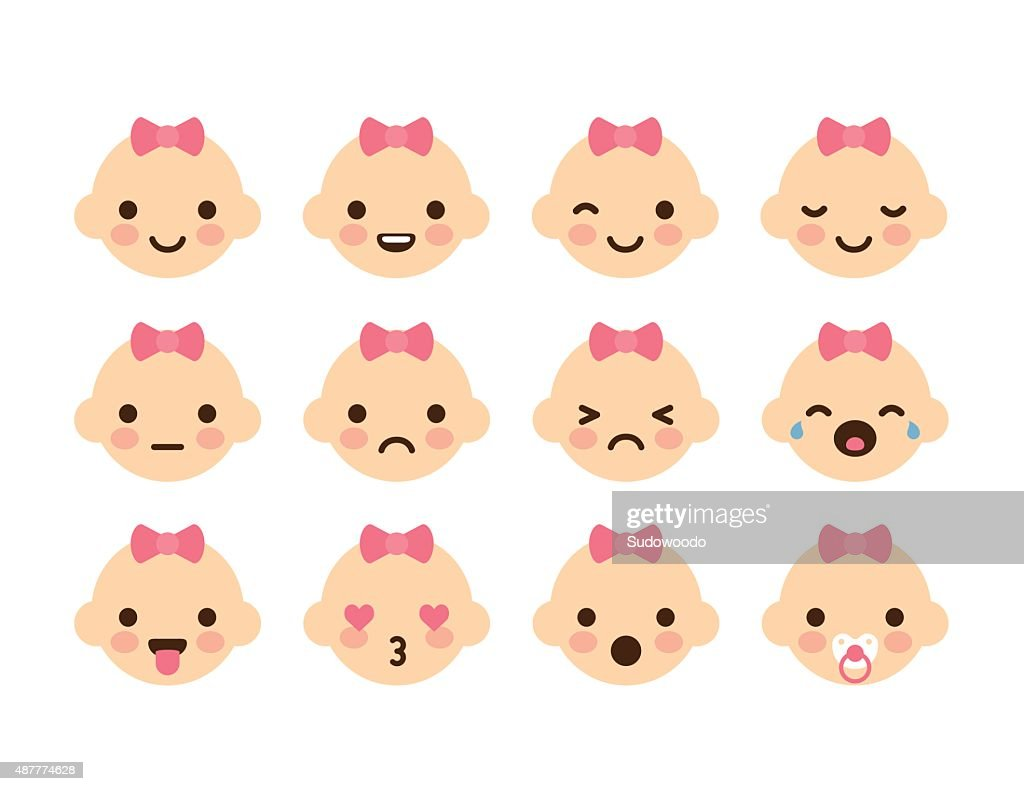 Baby Girl Emoticons