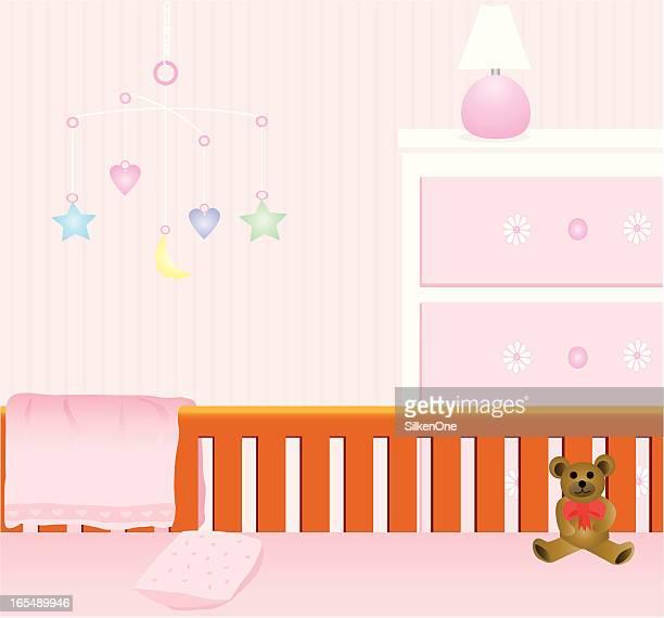 Baby Mädchen Kinderzimmer