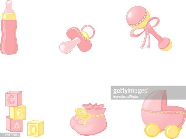 Baby icon-set
