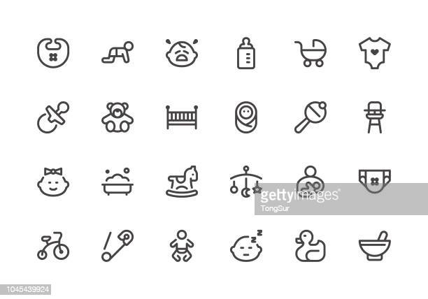 Baby - Line Icons