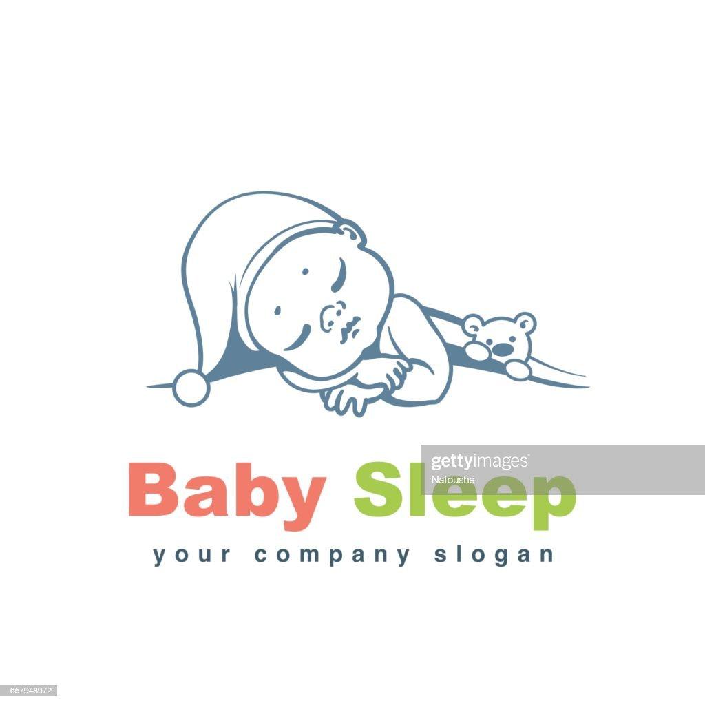 Baby logo template.