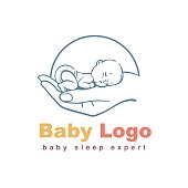 Baby logo template.
