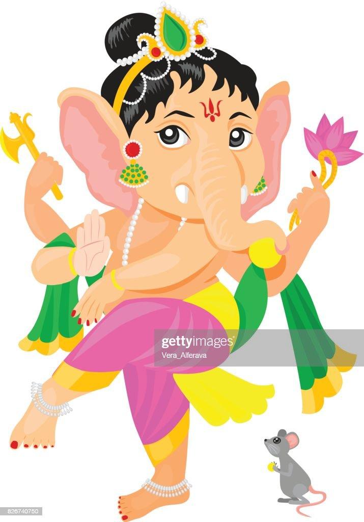 Baby Lord Ganesha Dancing