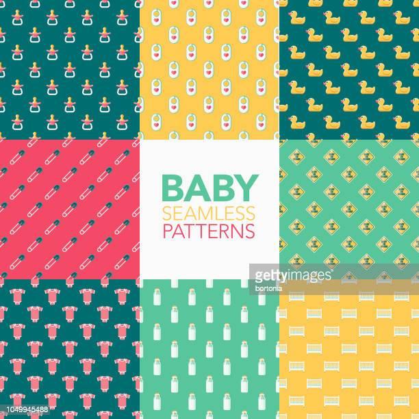 Baby Seamless Pattern Set