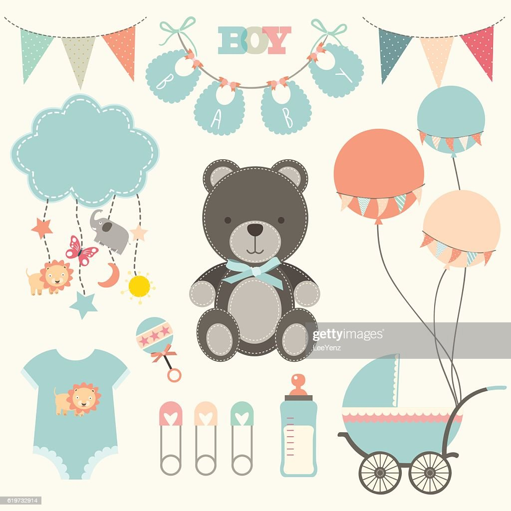 Baby Shower Collections- illustration