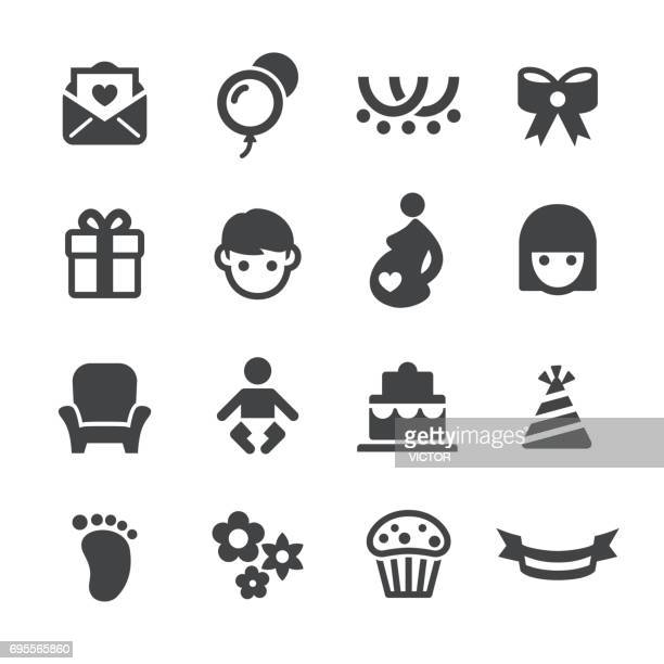 Baby Shower Icons - Acme Series