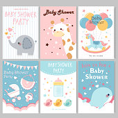baby shower party posters