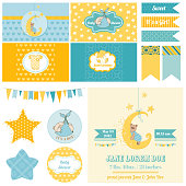 Baby Shower Sleeping Bear Theme  - for Party