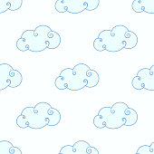 Baby shower toys seamless pattern background vector