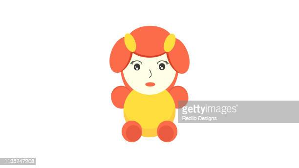 ilustrações de stock, clip art, desenhos animados e ícones de baby toy icon vector - bebe chegando