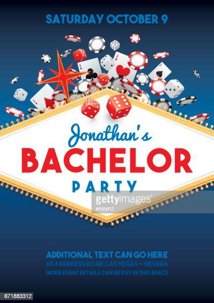 Bachelor party in Vegas invite