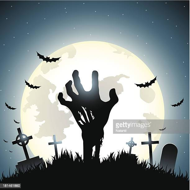 back from the dead - zombie stock illustrations, clip art, cartoons, & icons