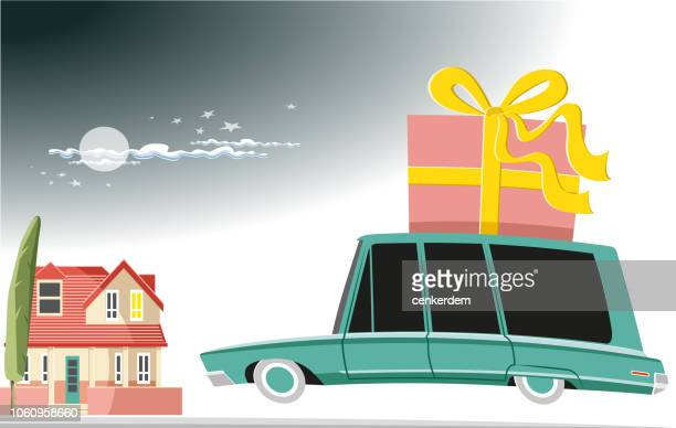back to home - car ownership stock illustrations, clip art, cartoons, & icons