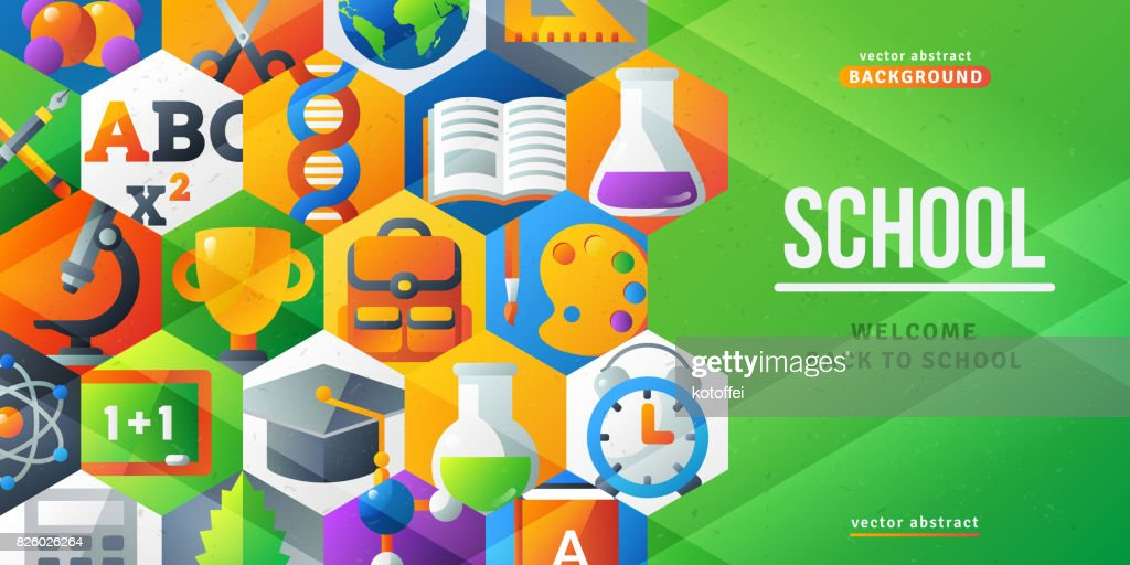 Back to school creative banner
