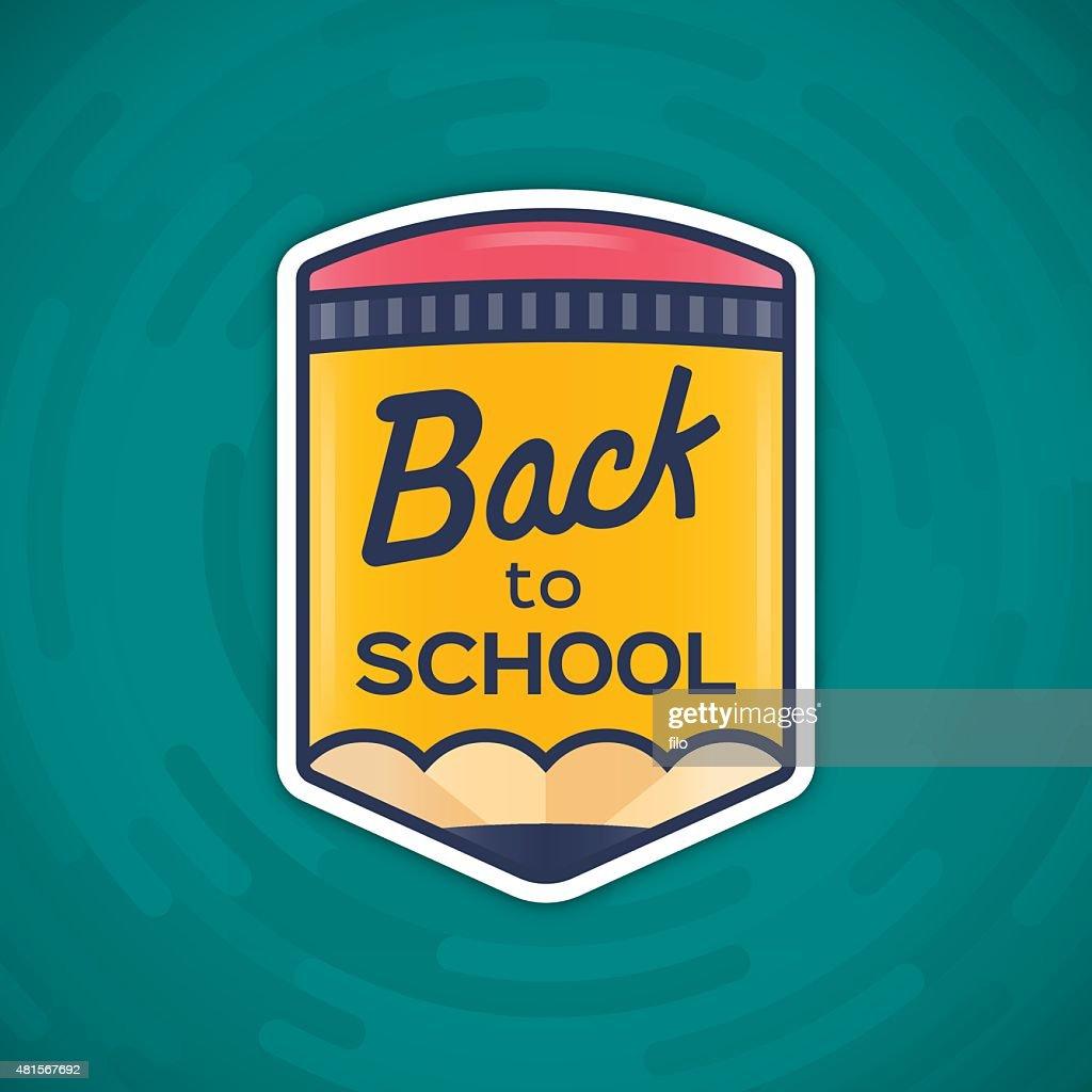Back to School Message : stock illustration