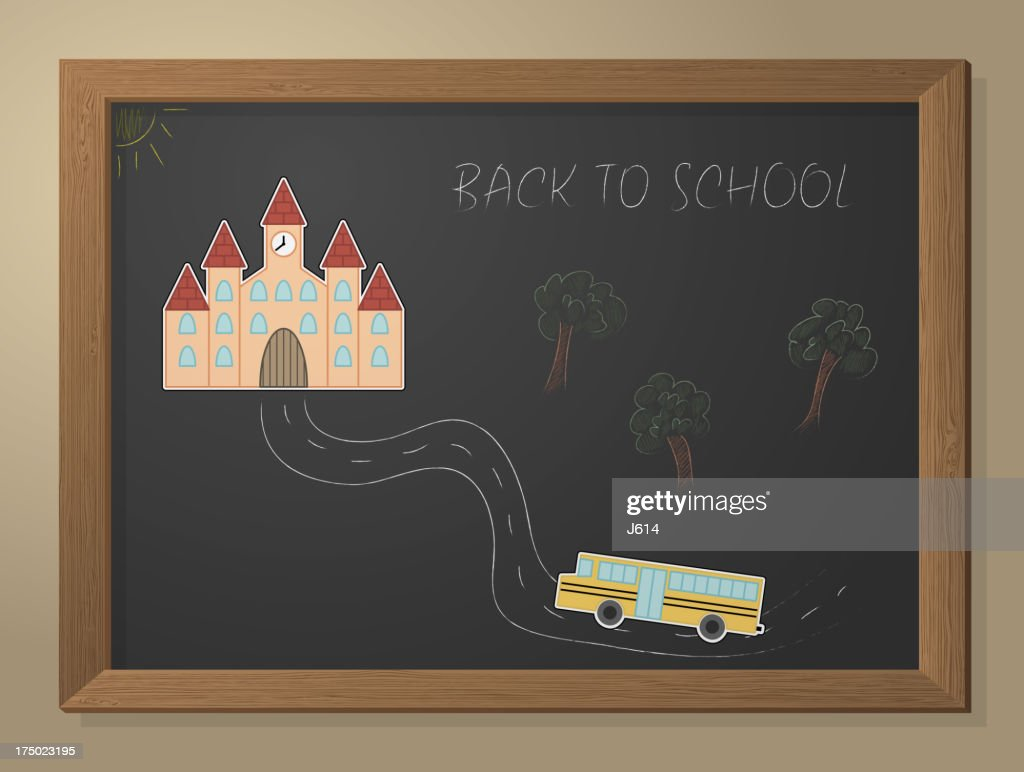 Back to school : stock illustration