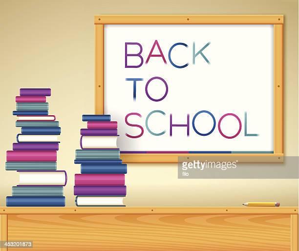 ilustraciones, imágenes clip art, dibujos animados e iconos de stock de vuelta a la escuela - edificio de escuela primaria