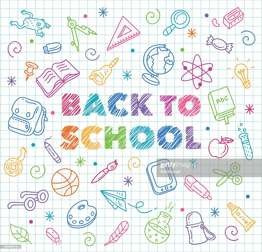 Back to School : stock illustration