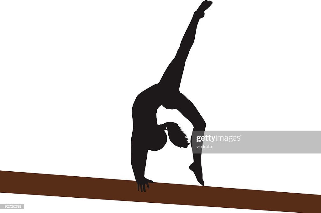 Back Walkover : Stock Illustration