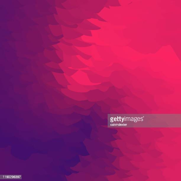 background abstract colorful shapes - hot pink stock illustrations