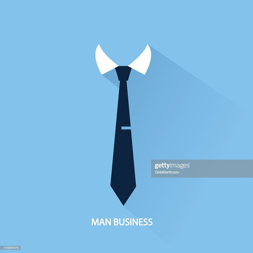 background businessman tie
