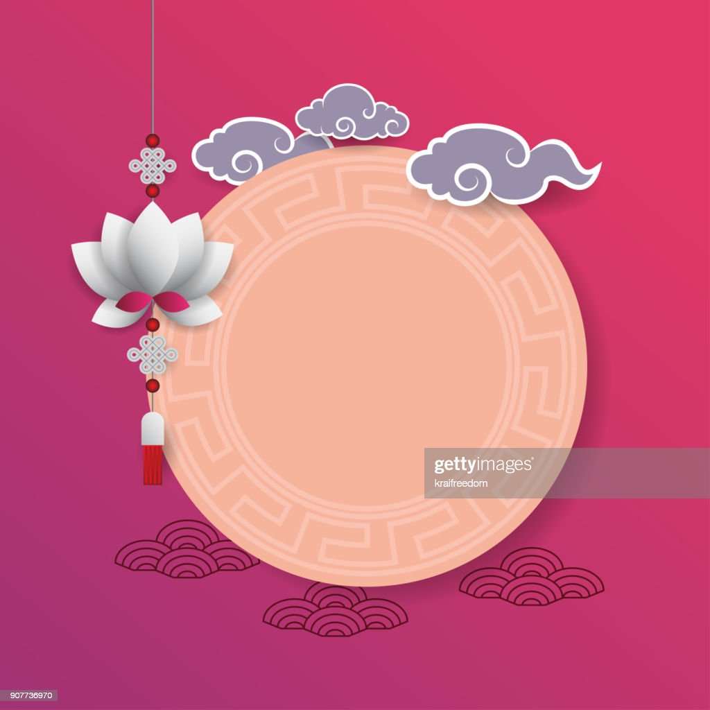 Background Chinese New Year. Vector illustration.