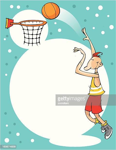 background de baloncesto