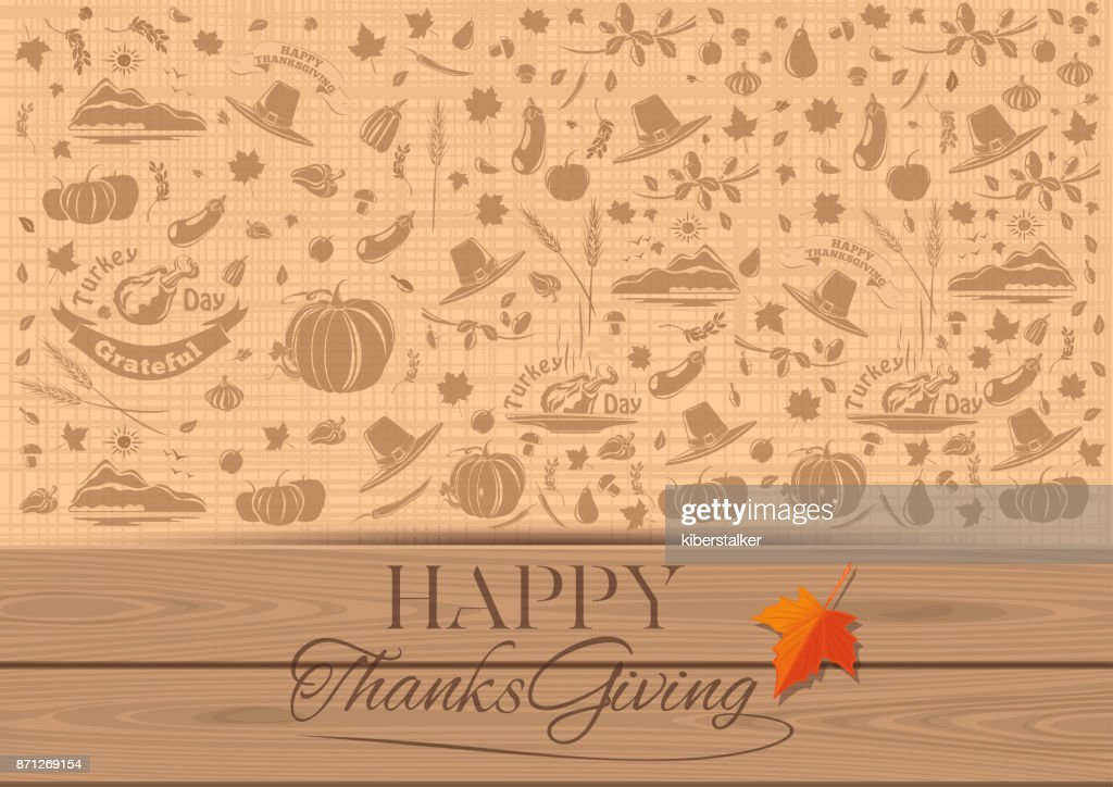 Background for Thanksgiving Day