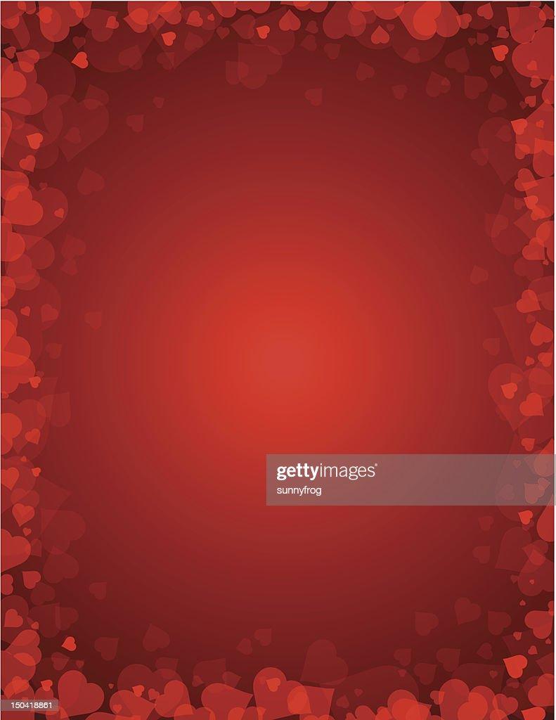 background for valentines da