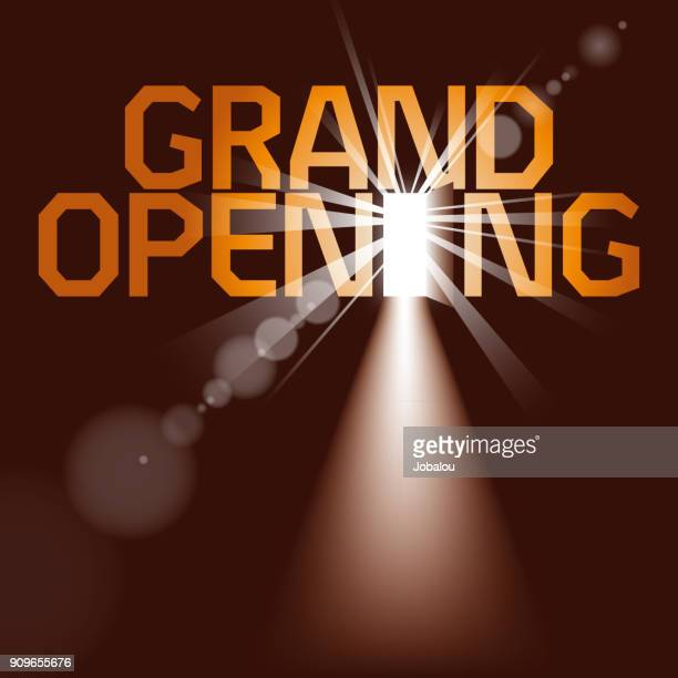 background grand opening - flare stack stock illustrations, clip art, cartoons, & icons