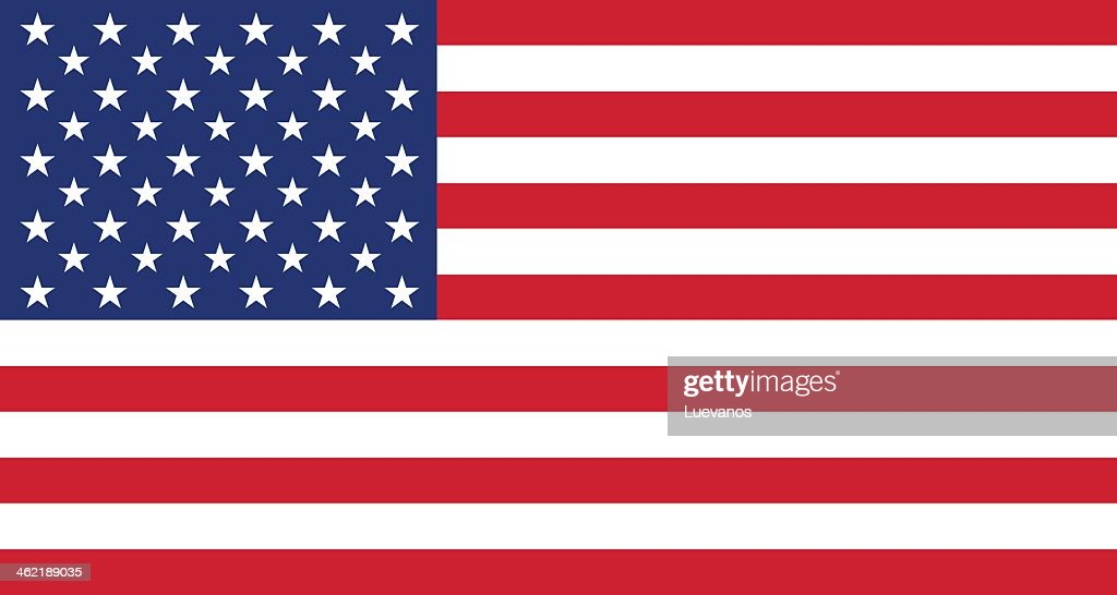 Background graphic of the American flag