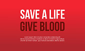 Background of world blood donor day style vector illustration