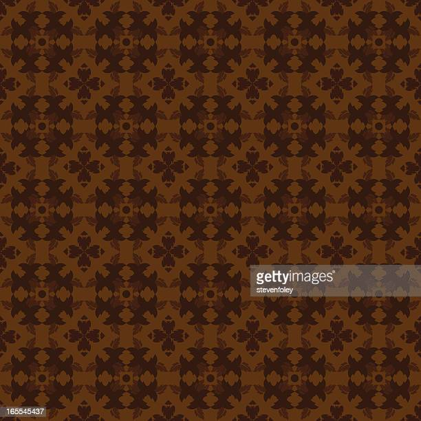 Background - Ornate Brown