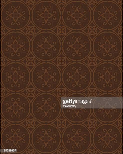 Background - Ornate Brown