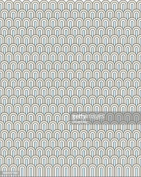 background - ornate scales - art deco stock illustrations