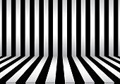 Background stripe room