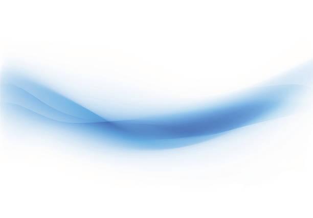 Background Swirl Blue Wall Art