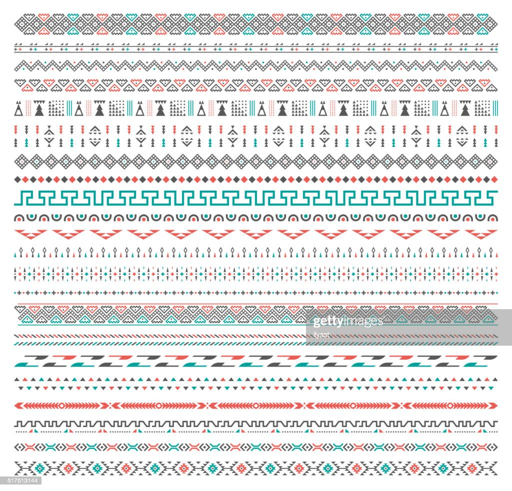 Background Tribal Pattern : stock illustration