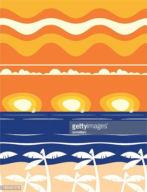 ilustraciones, imágenes clip art, dibujos animados e iconos de stock de de fondo - salina estado natural de terreno