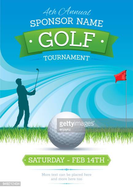 background - golf tournament stock illustrations, clip art, cartoons, & icons