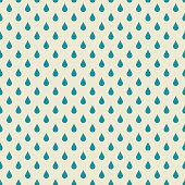 background with blue rain drops