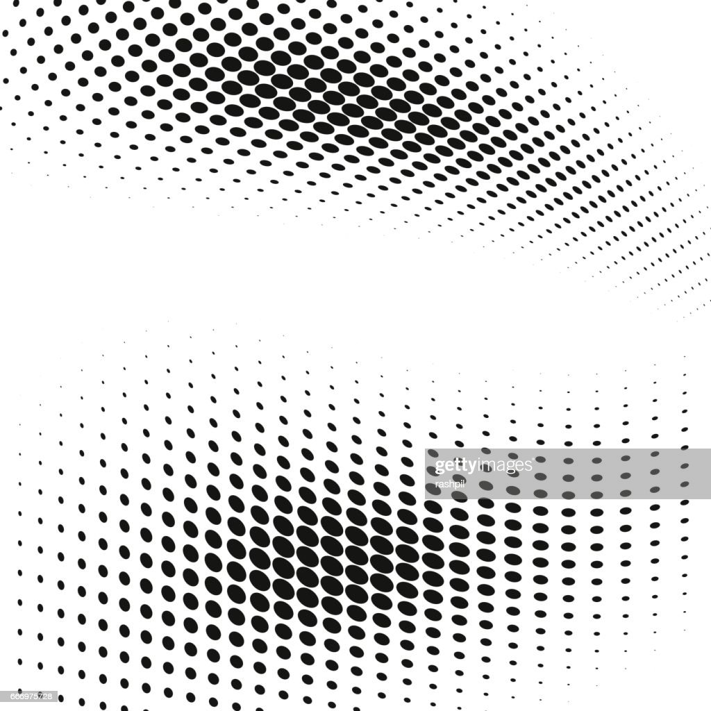 background with halftone dots effect