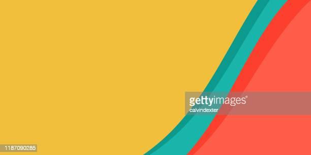 illustrazioni stock, clip art, cartoni animati e icone di tendenza di sfondi colori vivaci astratti - liscio